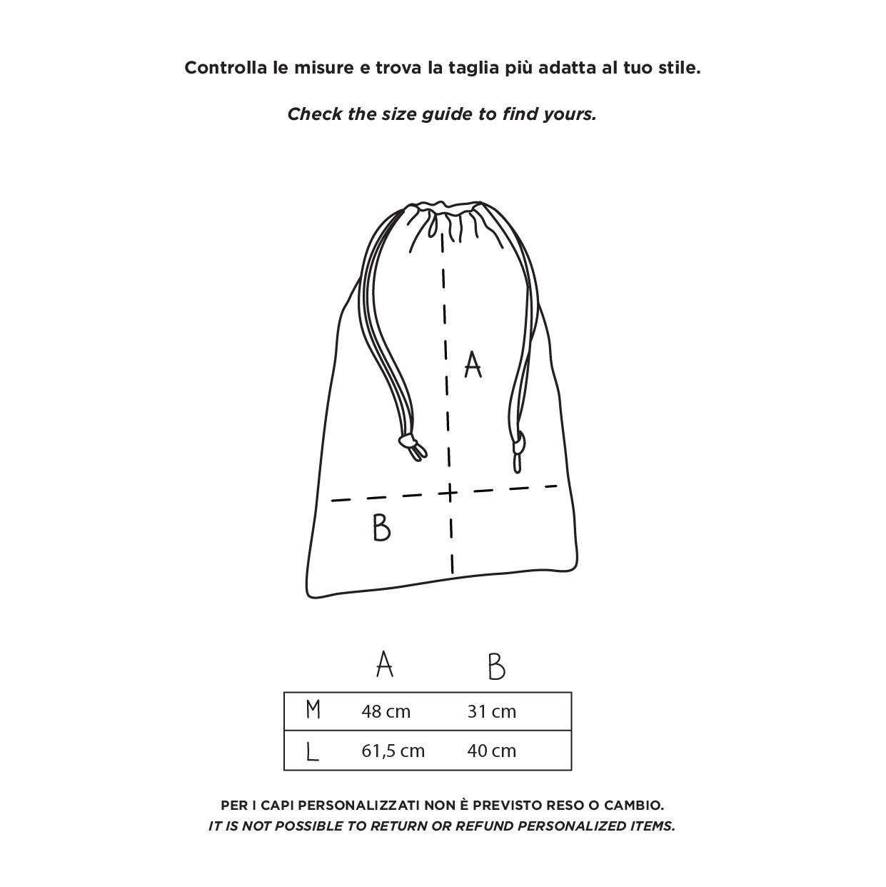 The CUORICINO dust bag
