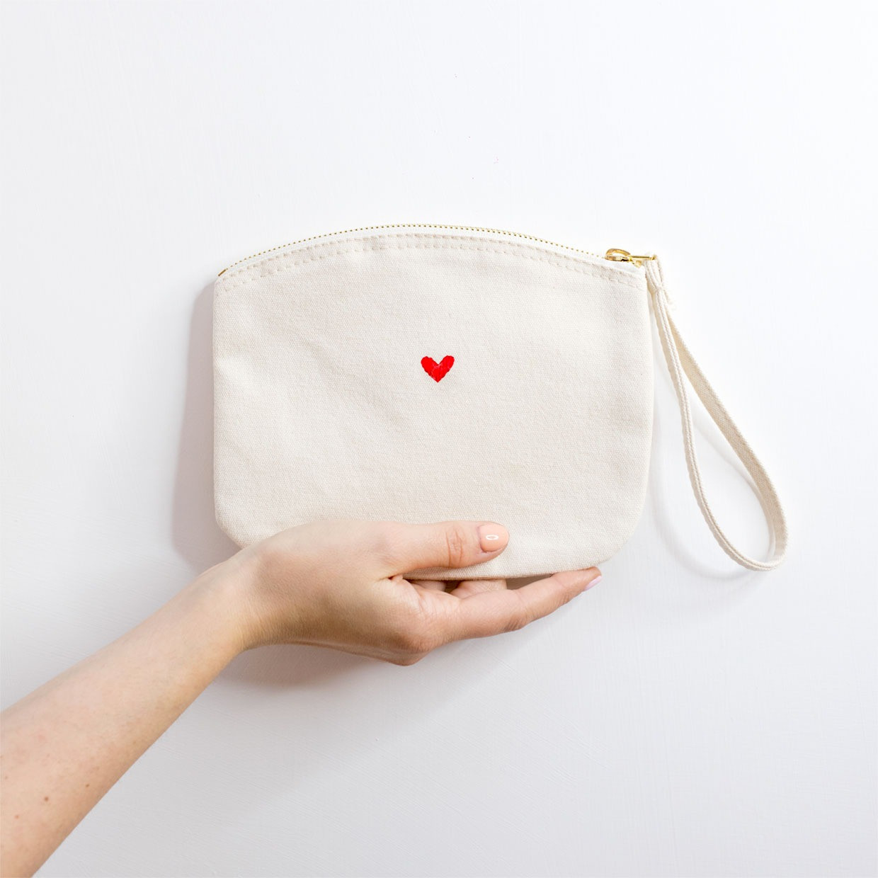 The ZIPPED POUCH M - cuoricino