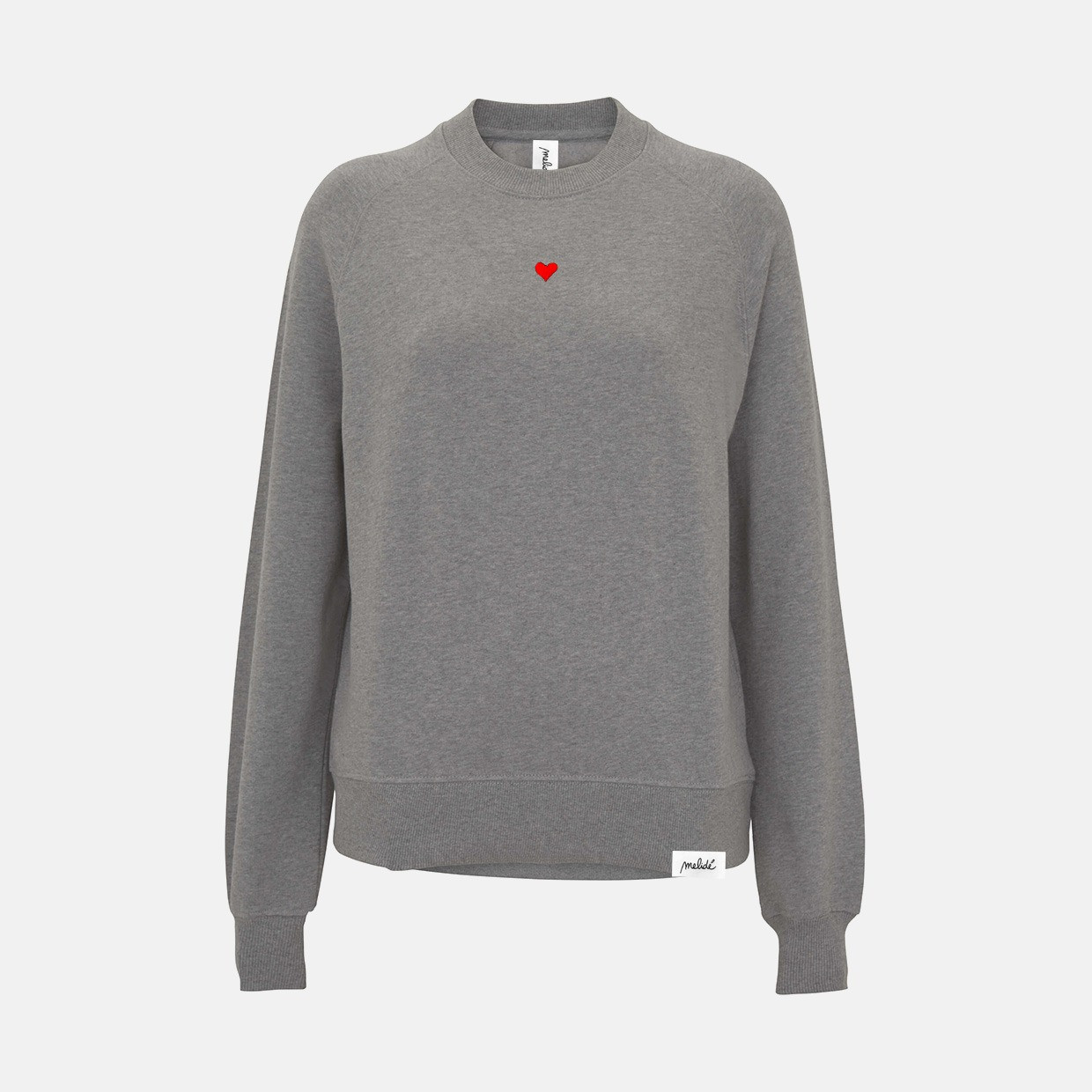 The CUORICINO raglan sweatshirt