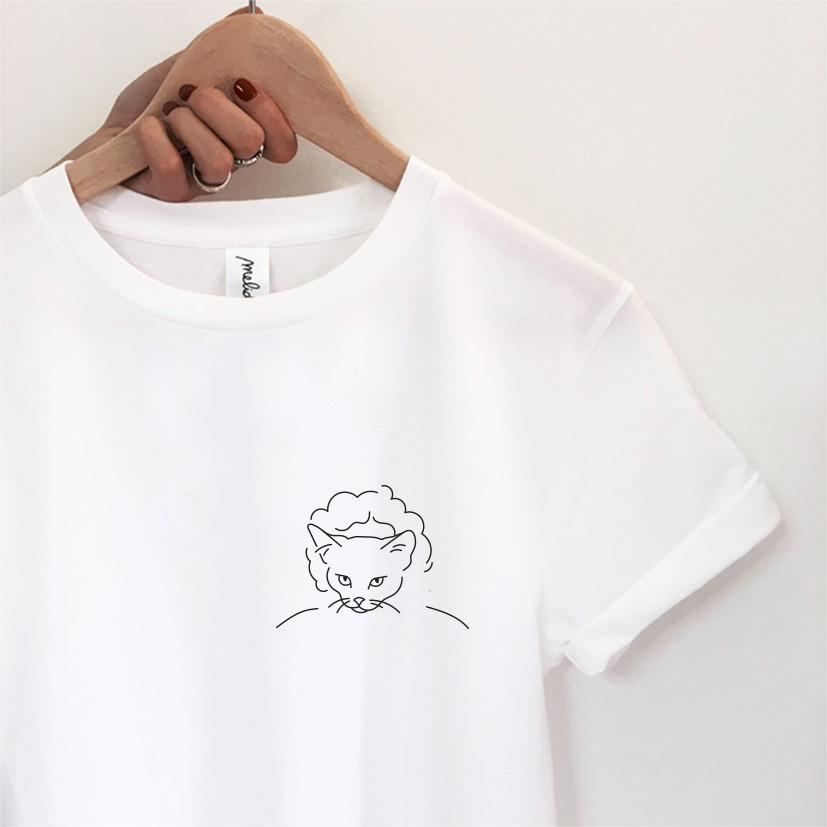my melidé - The BOY AND CAT tee