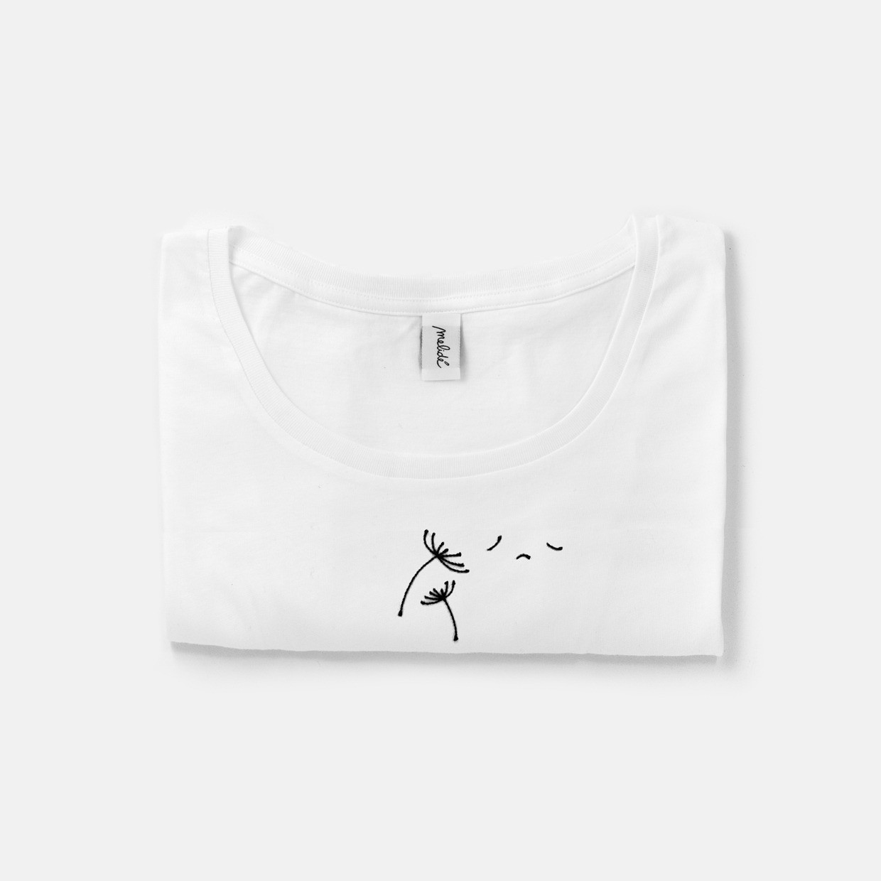 The SOFFIONE wide neck tee