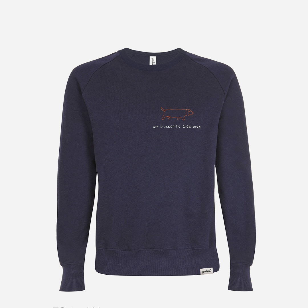 THE BASSOTTO CICCIONE UNISEX SWEATSHIRT