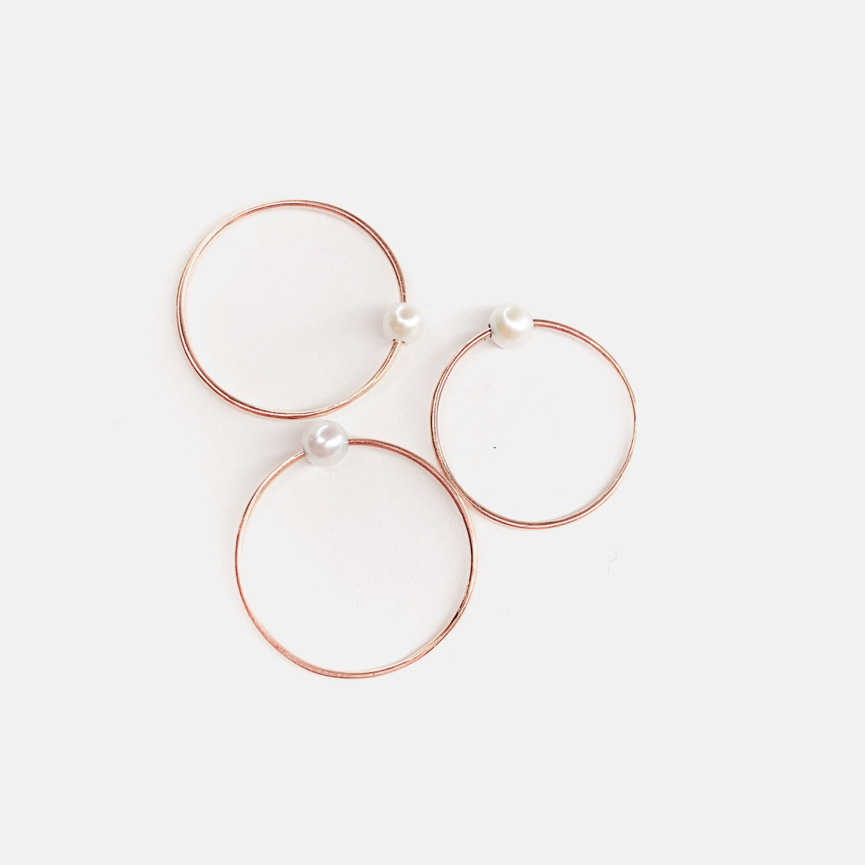 The THOUGHTLESS ring - oro rosa