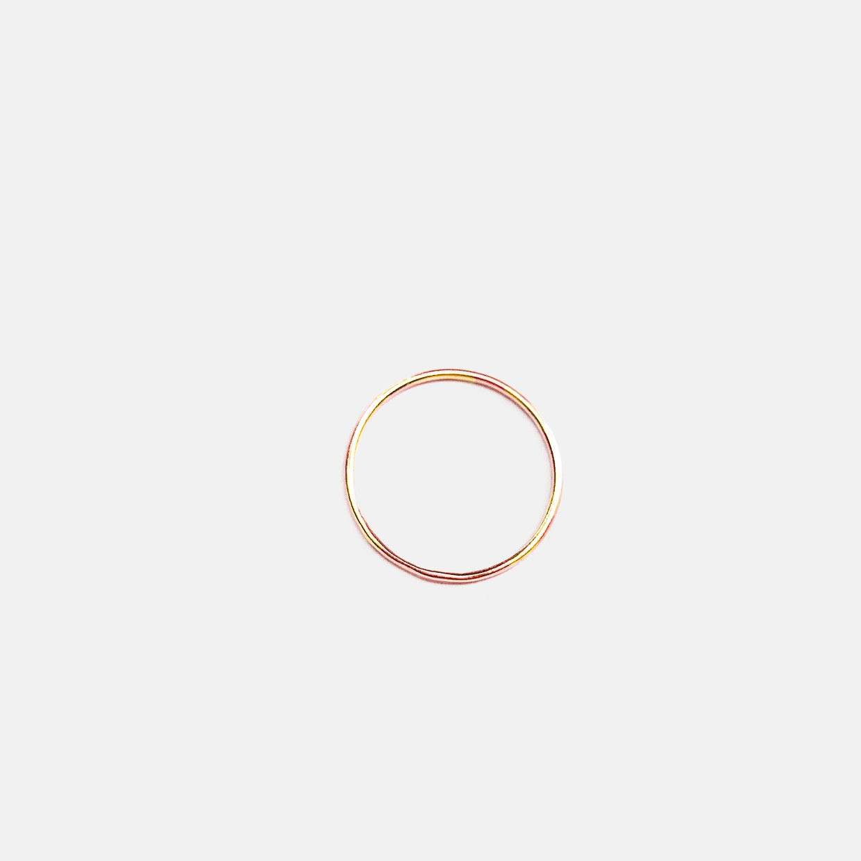 The NEVER WITHOUT ring - oro rosa