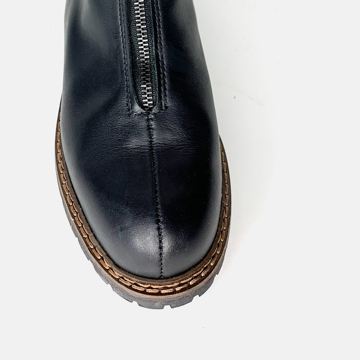 The WHATEVER ZIPPED boots