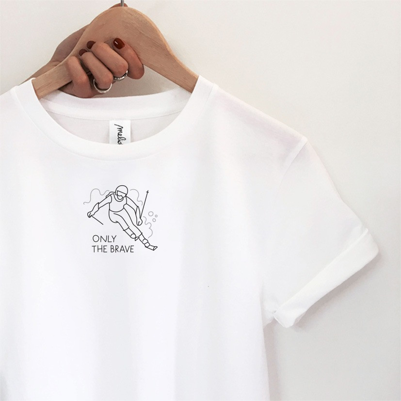 my melidé - The ONLY THE BRAVE tee