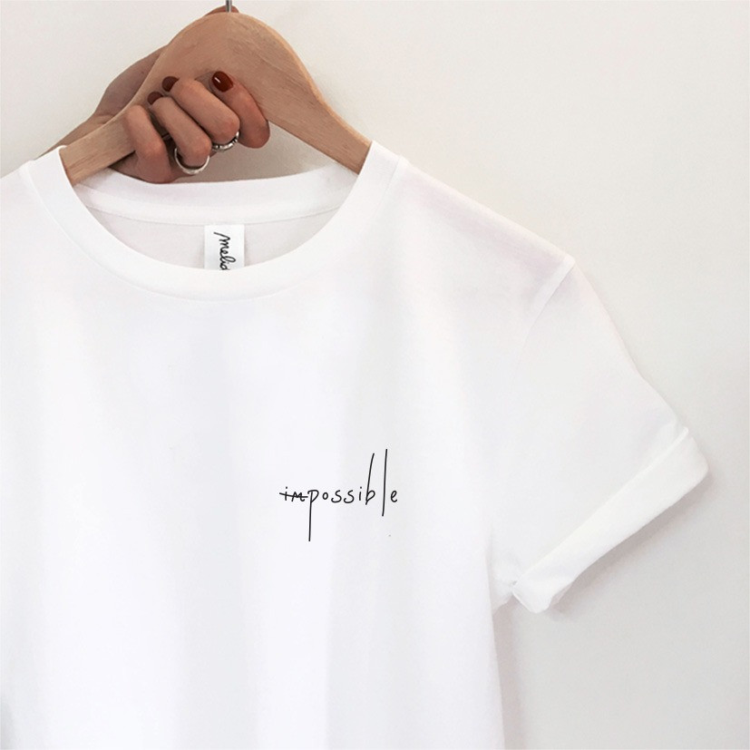 my melidé - The IMPOSSIBLE tee
