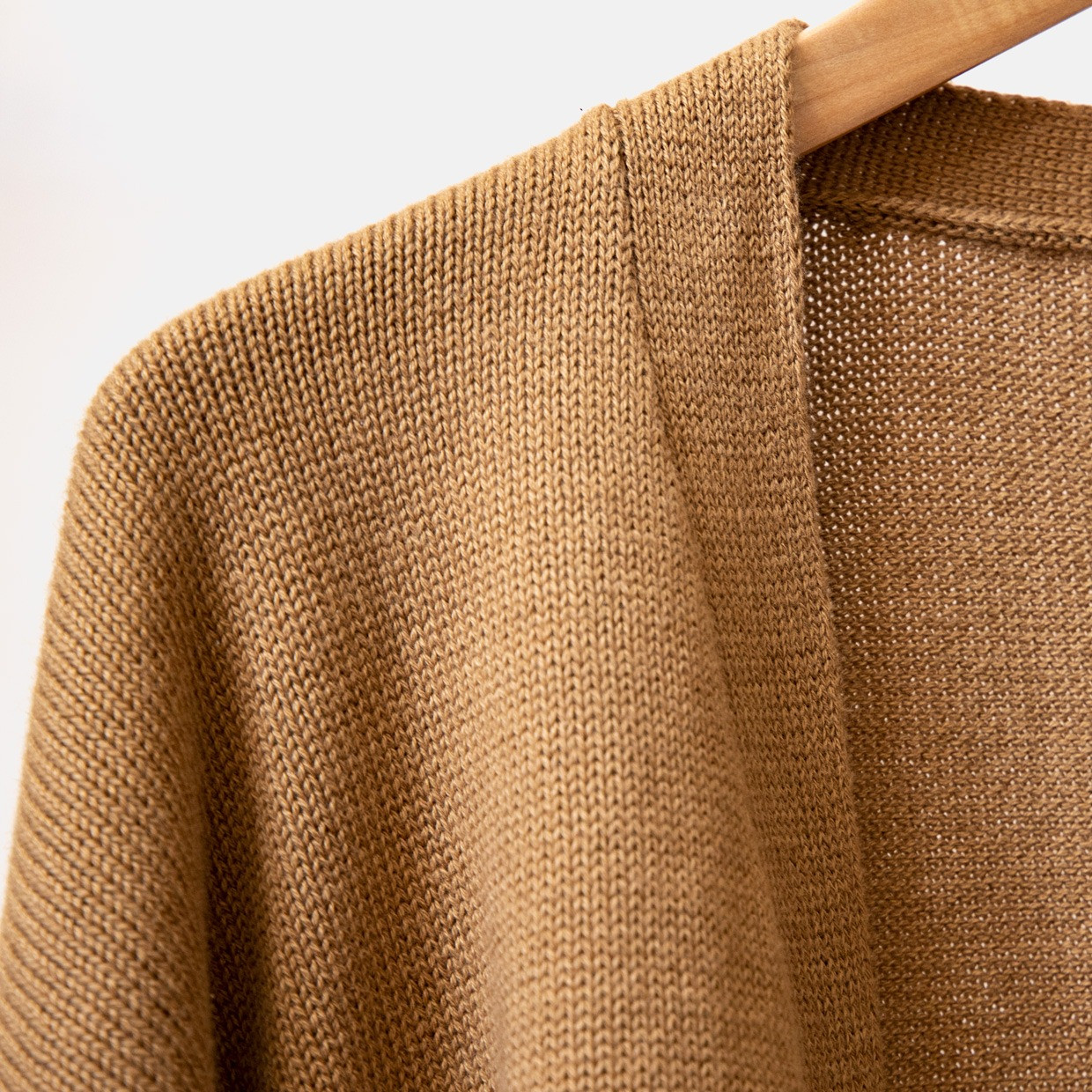 The SLOUCHY cardigan - cammello