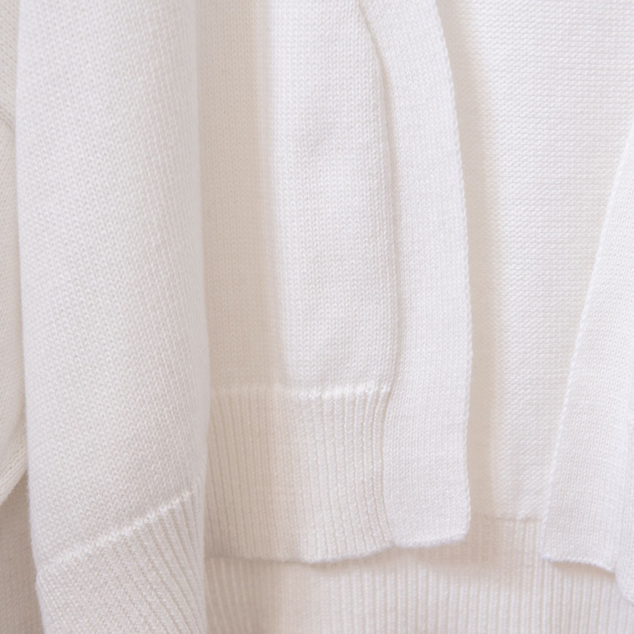 The SLOUCHY cardigan - quite white