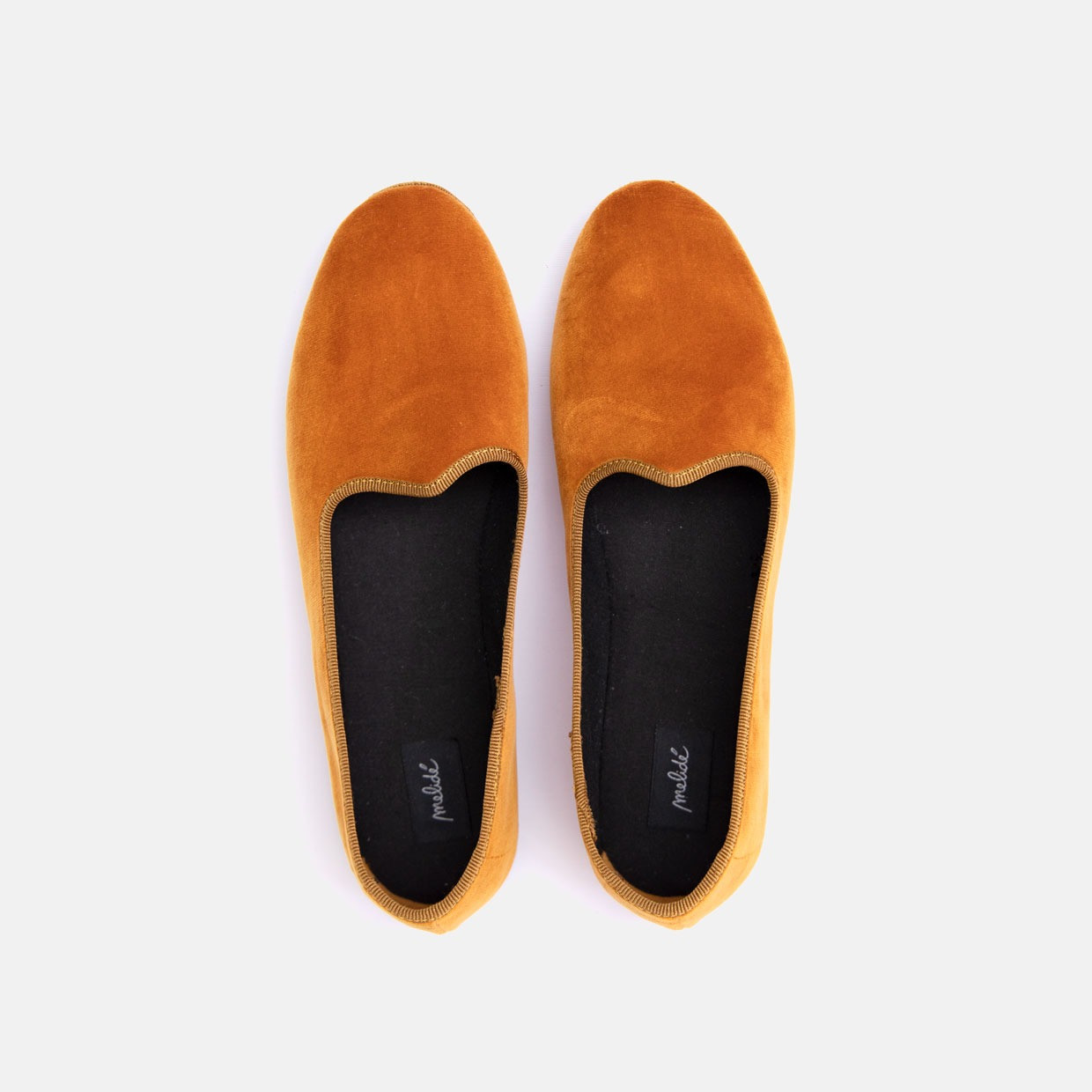 The COSY shoes - velluto bronzo