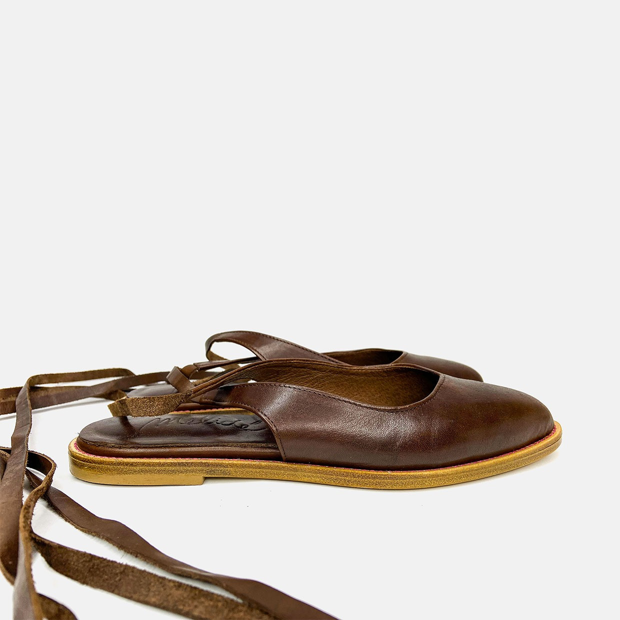 The LACE-UP flats - volpe