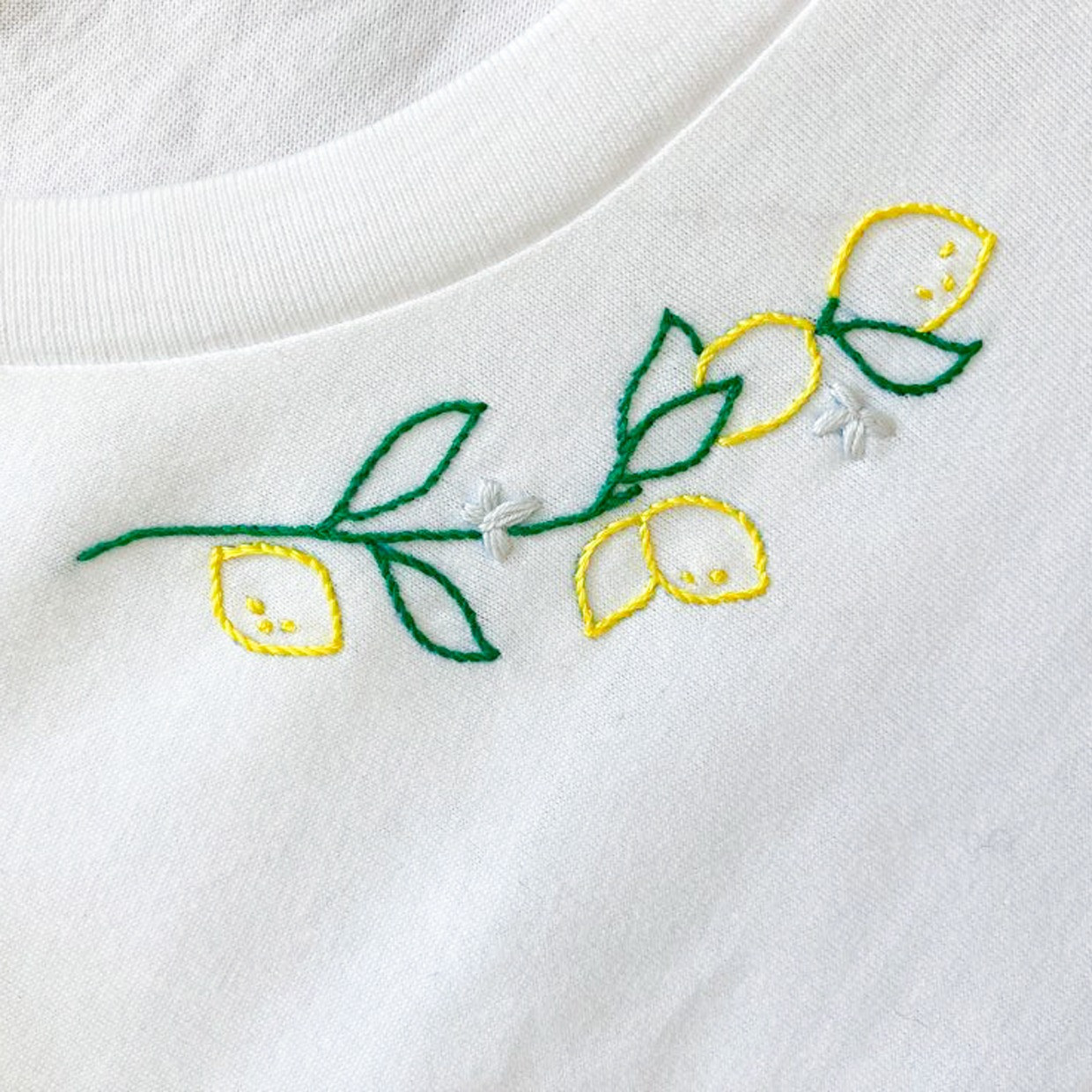 The LIMONE wide neck tee